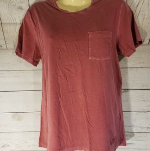 2 for 15 A&F Red Garment Dyed Tee